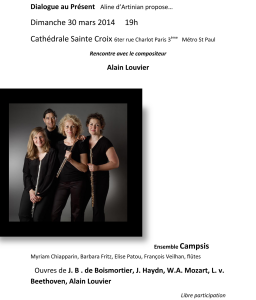 2014-03-30-affiche-concert-ensemble-Campsis-alain-louvier-francois-veilhan-flutiste-paris-france