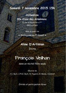 2015-11-07-affiche-concert-dialogue-au-present-aline-dartinian-francois-veilhan-flutiste-paris-france