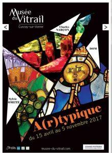 2017-08-13-affiche-concert-musée-du-vitrail-Curzay-Else-patou-flute-francois-veilhan-flutiste-paris-france