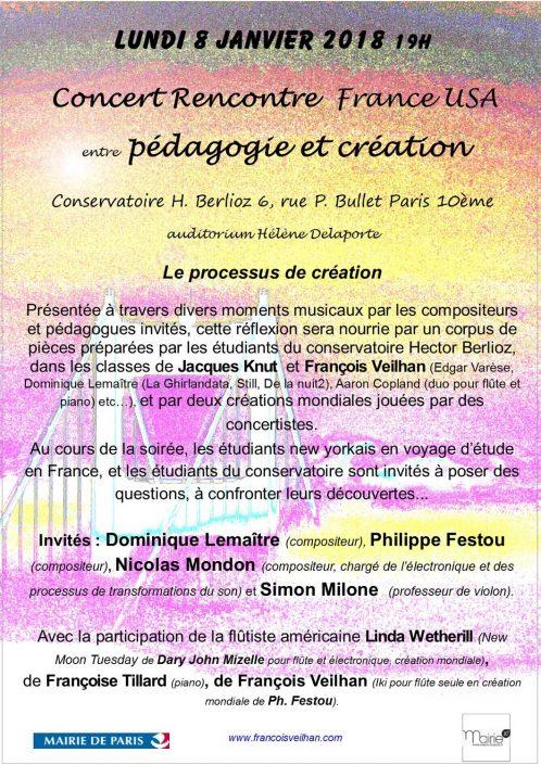 2018-01-08-affiche-concert-france-usa-linda-wetherill-flute-francois-veilhan-flutiste-paris-france