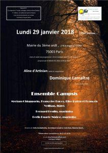 2018-01-29-affiche-concert-dialogue-au-present-aline-dartinian-dominique-lemaitre-ensemble-campsis-francois-veilhan-flutiste-paris-fran