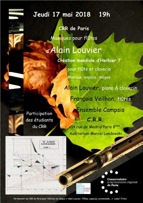 2018-05-17-affiche-concert-alain-louvier-ensemble-campsis-francois-veilhan-flutiste-paris-france