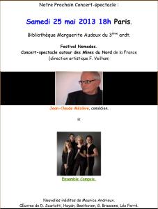 affiche-festival-nomade-2013-05-25-ensemble-campsis-Jc-Meziere-francois-veilhan-flutiste-paris-france