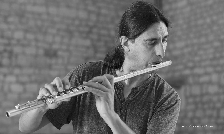 Portrait François Veilhan flûtiste concertiste Paris France