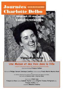 affiche-concert-rencontre-2016-05-20-charlotte-delbo-francois-veilhan-flutiste-paris-france