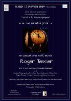 affiche concert 80 ans Roger Tessier
