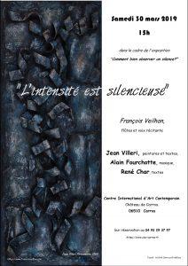 2019 03 30 visuel concert François Veilhan Carros 06