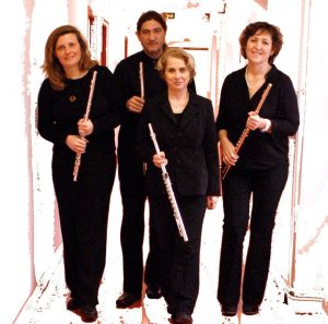 Ensemble Campsis quatuor de flutes