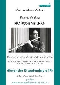 2019 09 15 concert François Veilhan  en Limousin