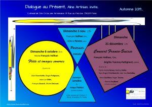 affiche Dialogue au Present 2019
