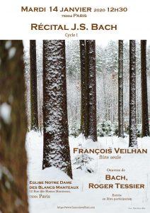 concert François Veilhan 14 janv 2020 ND Blc Manteaux Paris